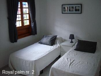 Royal Palm 2 Soveværelse m. enkeltsenge