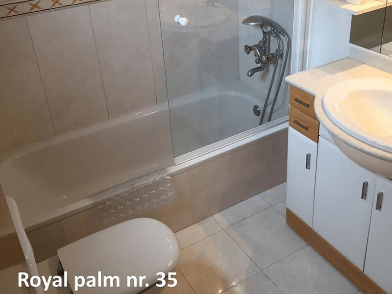 Royal Palm 35 Badeværelse