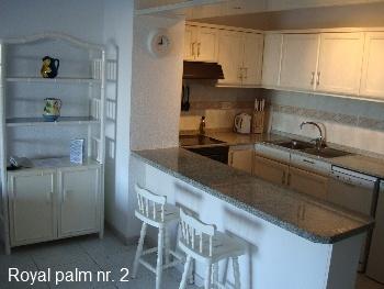 Royal Palm 2 Køkkenområde