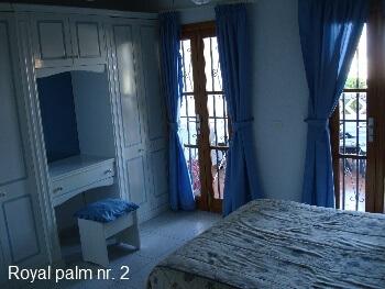 Royal Palm 2 Soveværelse m. dobbeltseng